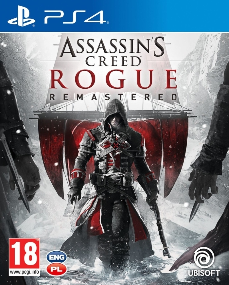 Assassin's Creed: Rogue Remastered PL (PS4)